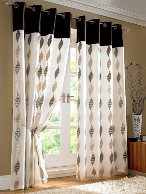 Simple Classical Outlook Curtain Design