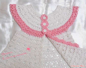 Crochet Baby Dress Set Pattern : Crochet Baby dress Free Crochet Patterns 561