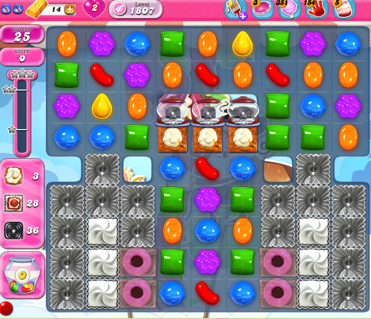Candy Crush Saga 1807