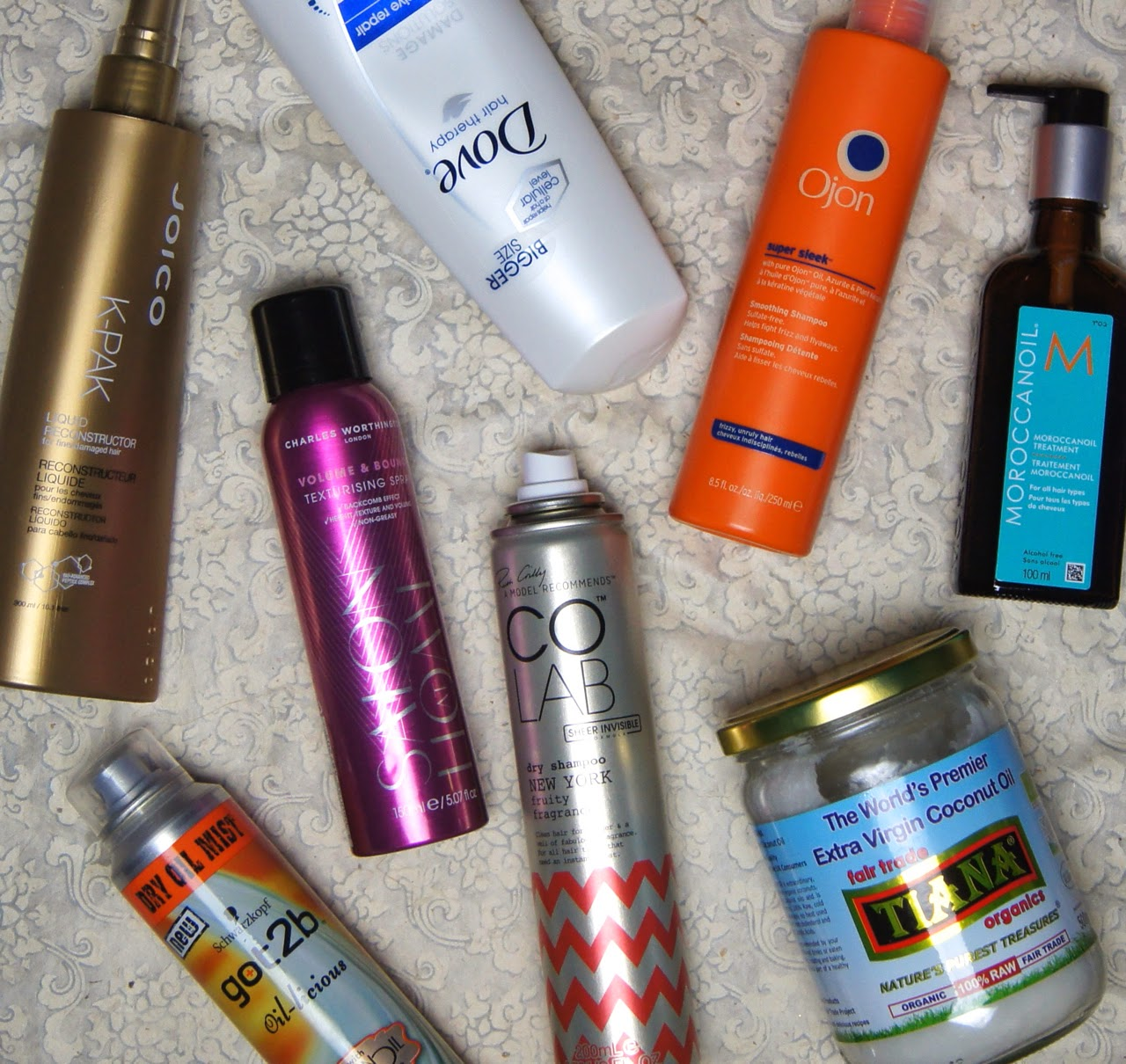 2014 haircare favourites
