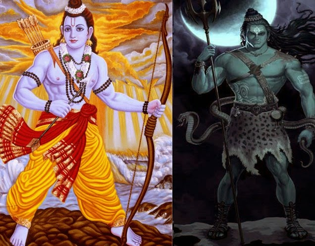 Battle between Lord Shiva and Lord Ram