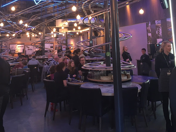 Sneak Preview At Alton Towers Rollercoaster Restaurant