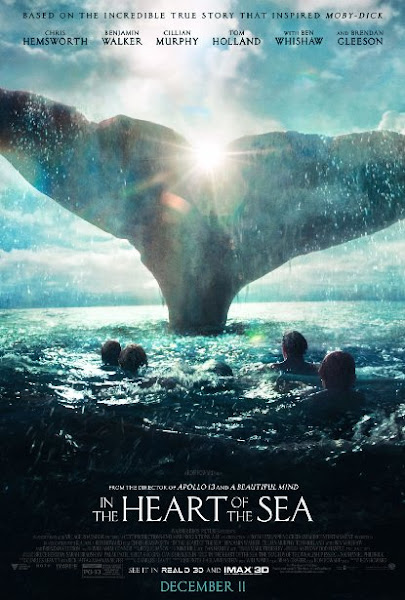 Poster Of In The Heart Of The Sea 2015 720p English BRRip Full Movie Download
