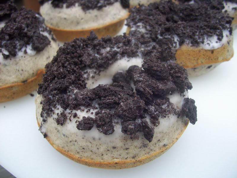Flavors By Four Baked Oreo Donuts
