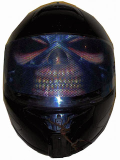 Motorcycle Helmet Visor Sticker