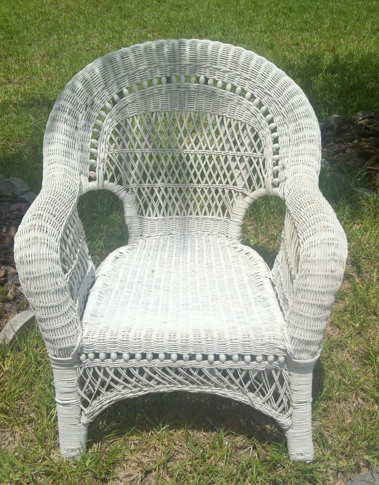 ~ Black Satin Wicker Chairs + Pink & White Dresser