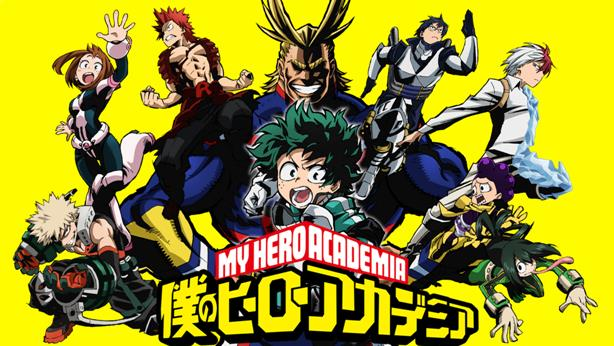 Daftar Film Anime Mirip Fairy Tail - Boku no Hero Academia