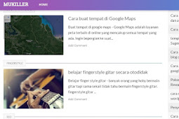 template blog seo friendly dan loading cepat (Recommended)