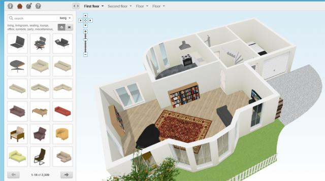 El blog del profe edgar floorplanner programa online for Crear planos 3d online