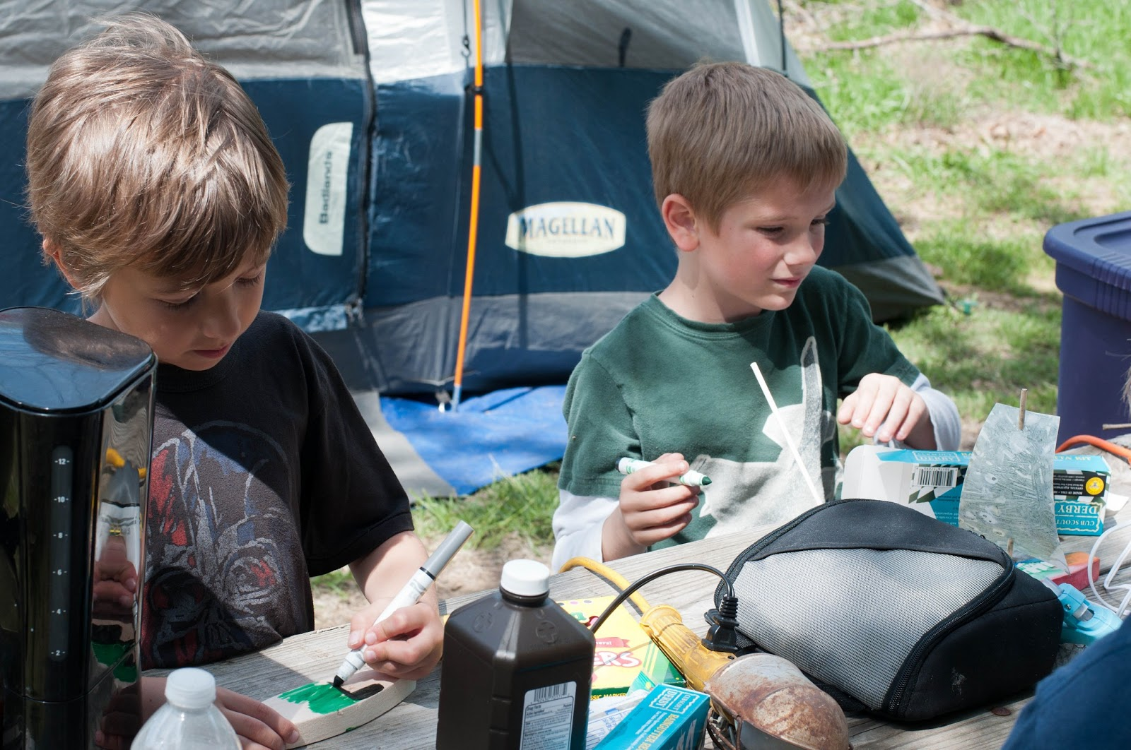 The Doeschers Cub Scout Camping Trip Activities