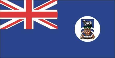 Bandeira das Ilhas Falklands