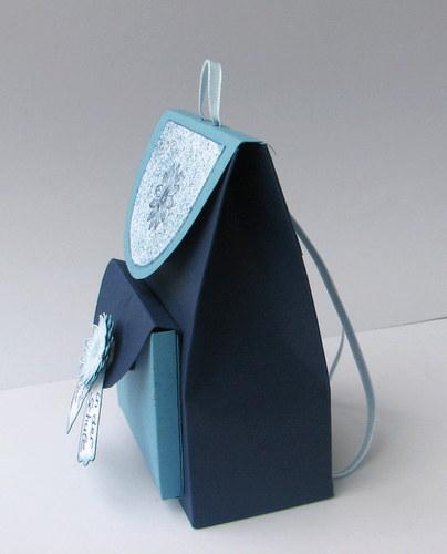 rucksack gutschein basteln