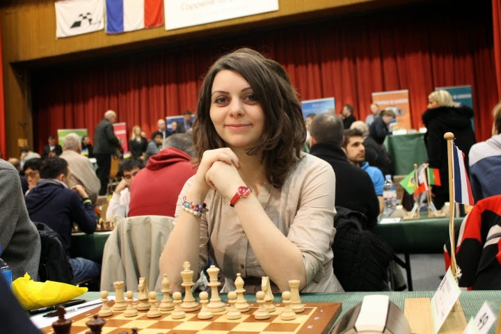 La championne de France Nino Maisuradze - Photo © Chess & Strategy