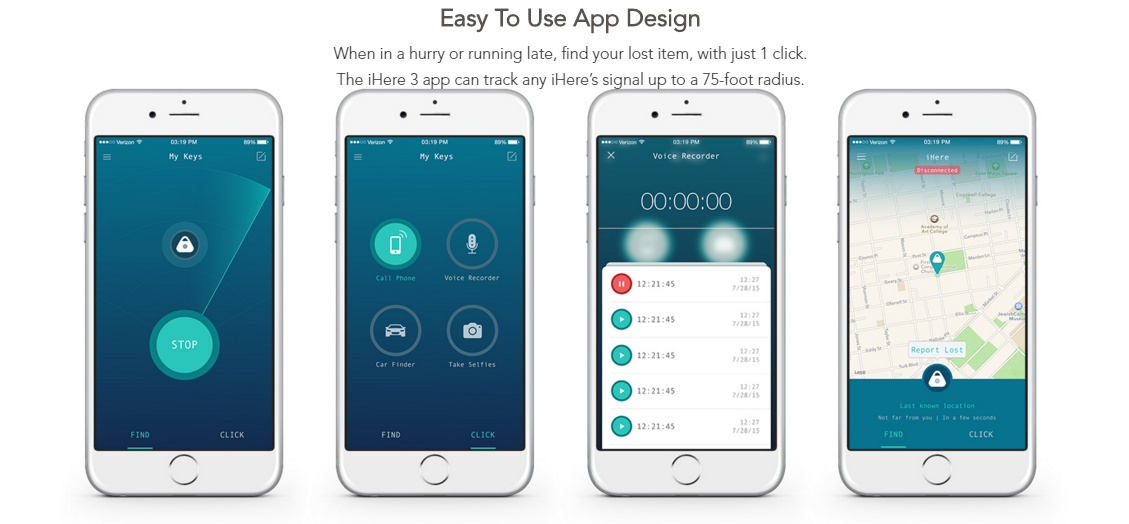 Mail4Rosey: IHere 3 0 WILL Help You Find Your Keys, Your Car, Your