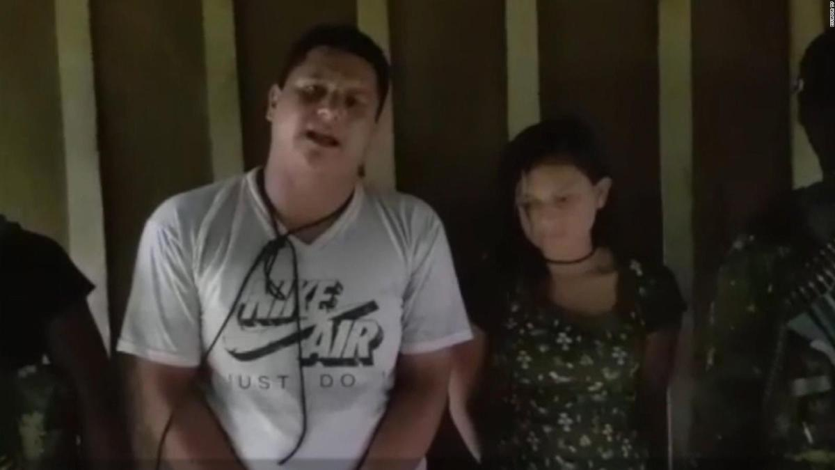 Oscar Villacís y Vanesa Velasco fueron secuestrados el 17 de abril por la disidencia de las FARC / RRSS