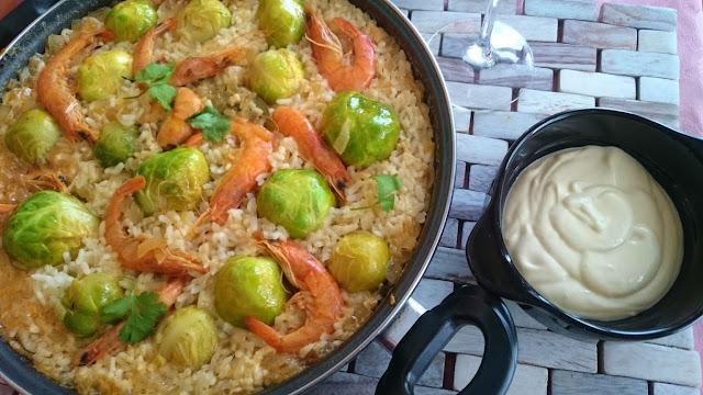 arroz-con-coles-de-Bruselas
