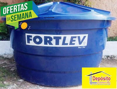Caixa D'água Fortlev 1000 litros R$ 297,00