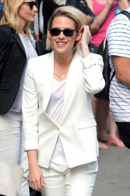Kristen Stewart at Good Morning America in New York City