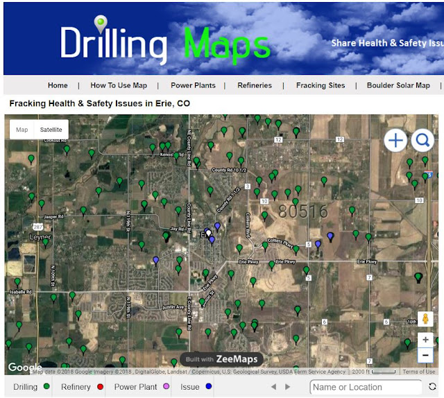 Drilling Maps Find Oil Gas Drilling Fracking Near You