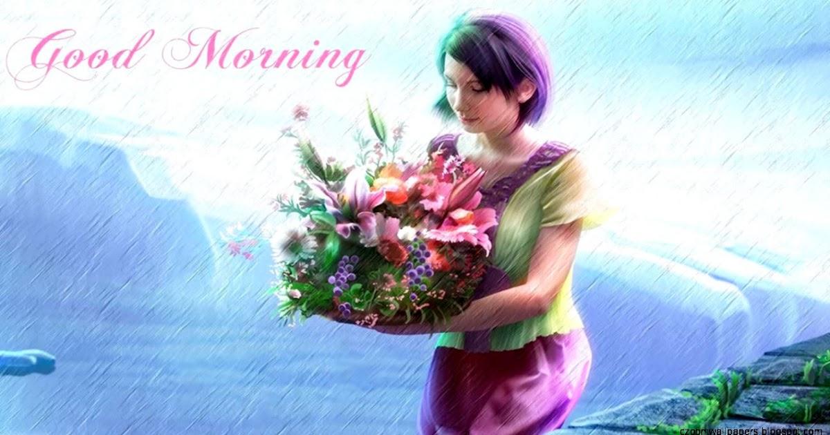 Anime Girl Morning Wallpaper Hd Zoom Wallpapers