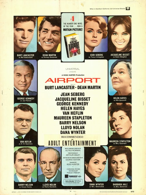 Airport 1970 disaster movie poster