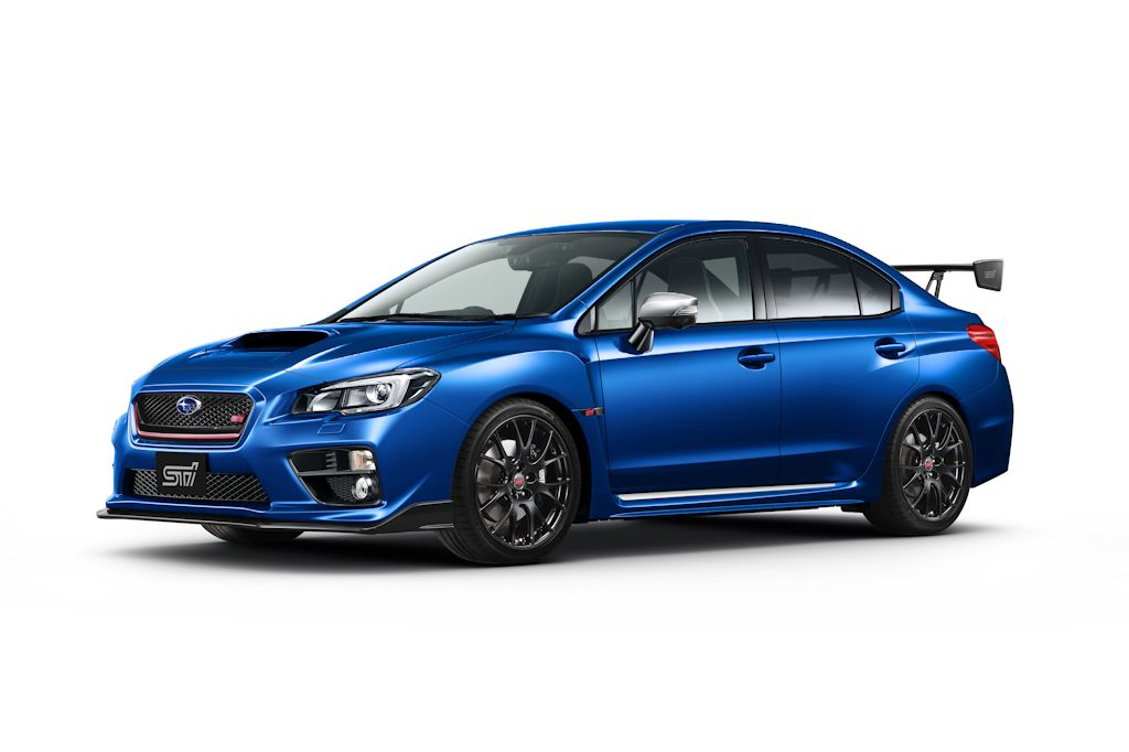 Drool at this Japan-Only, Limited Edition Subaru WRX S4 tS