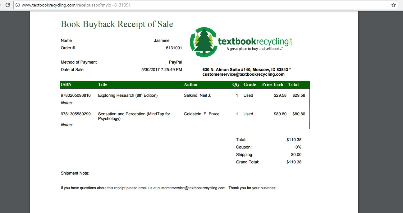 Buy and Sell Textbooks | Textbook Recycling