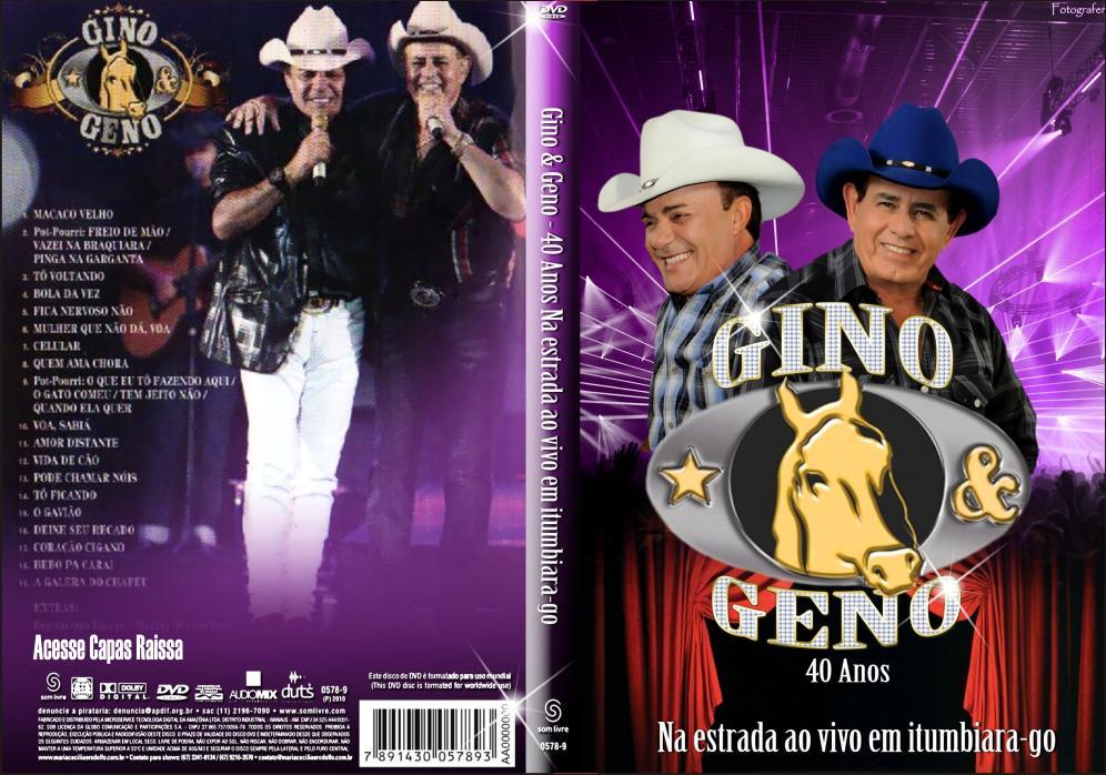 dvd gino e geno ao vivo em itumbiara