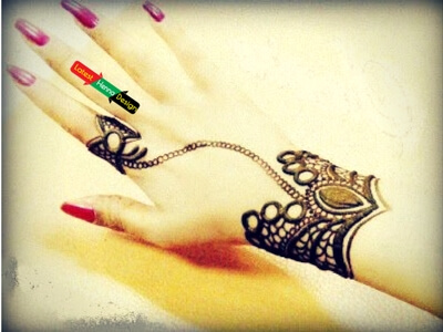 simple mehndi designs-the last simplest henna design for you-latesthennadesigns