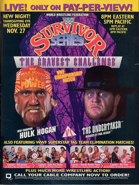 The Horror Movie Bbq 6 Great Things About Survivor Series 1991