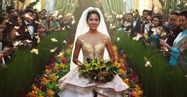 crazy rich asian wedding