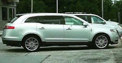 Lincoln MKT station wagon.
