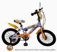 Sepeda Anak Kouan KB1603 Classic 16 Inci