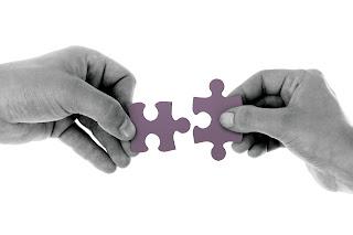 Conectando dos piezas de puzzle