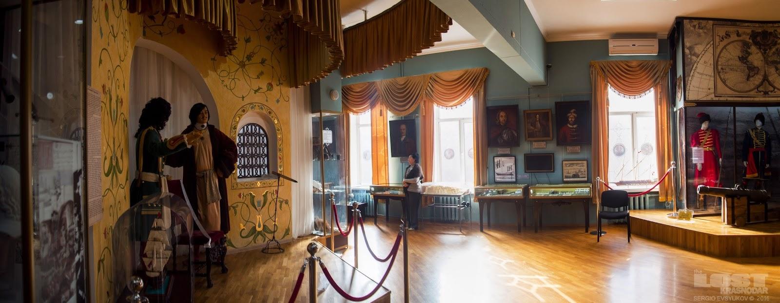 Музей в городе Азов