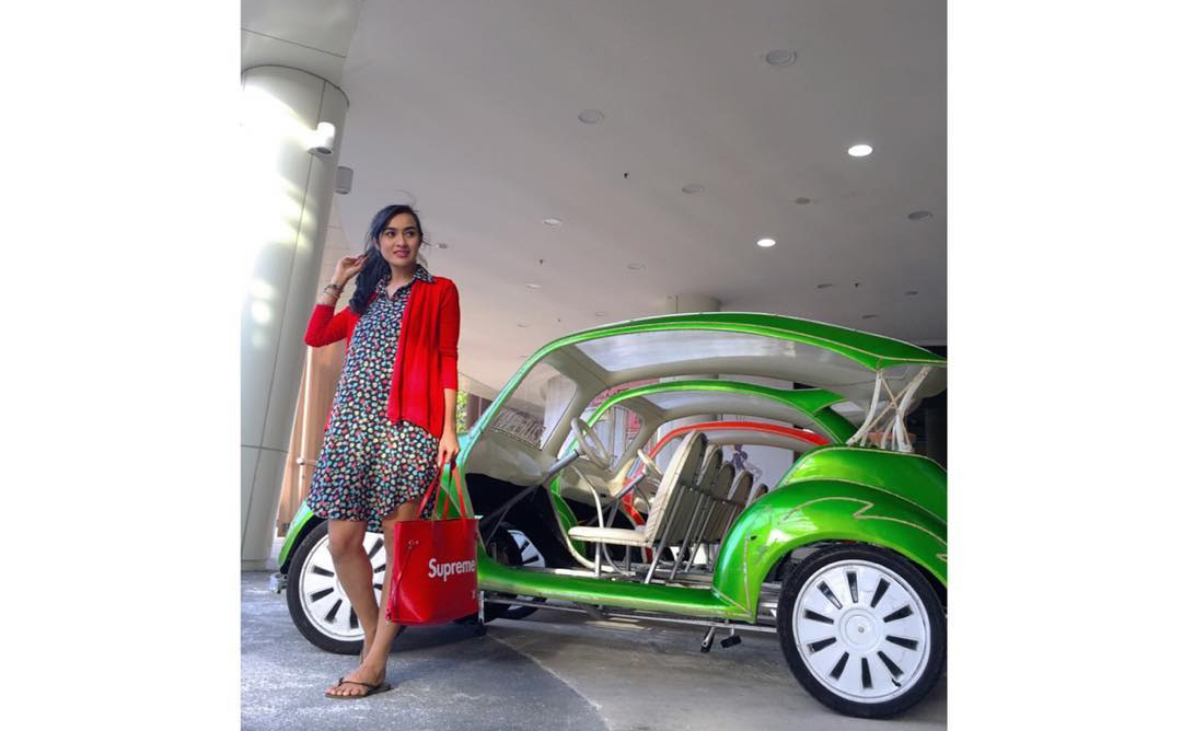 Mega Carefansa Dengan Mobil