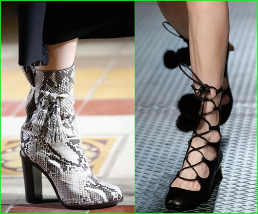 Schuhtrends Herbst-Winter 2015/2016