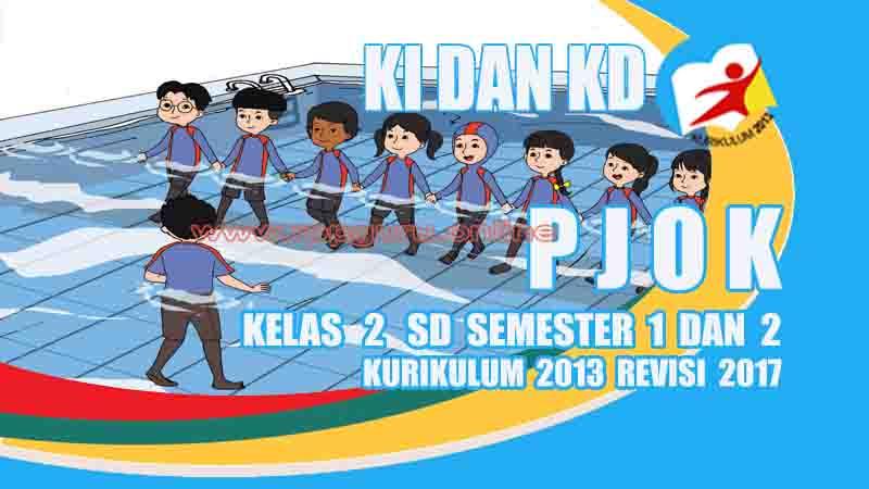 Ki Dan Kd Pjok Kelas 2 Sd Kurikulum 2013 Revisi 2017 Gurusd Id