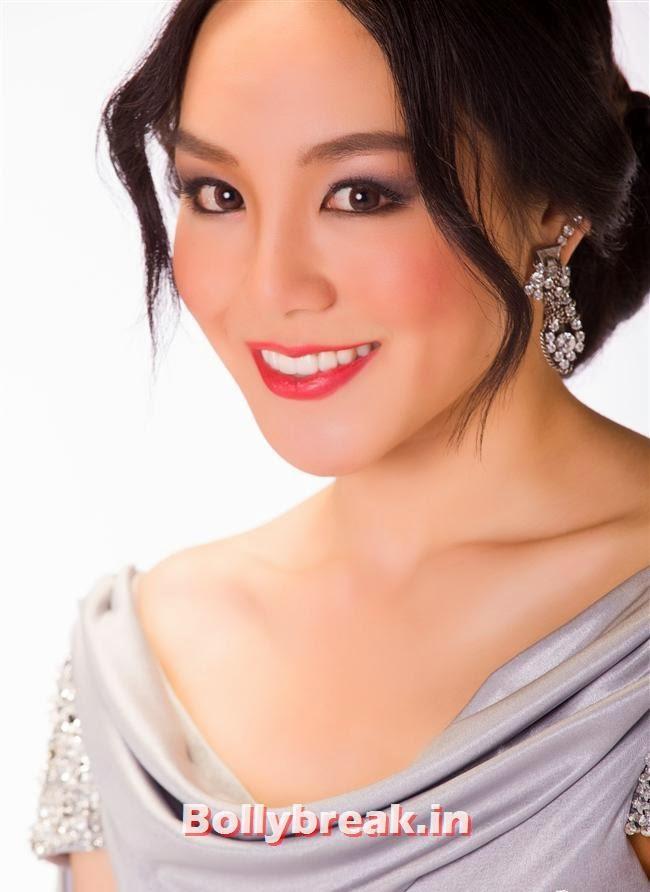 Miss Singapore, Miss Universe 2013 Contestant Pics