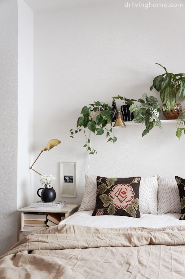 La decoración de mi dormitorio en verano