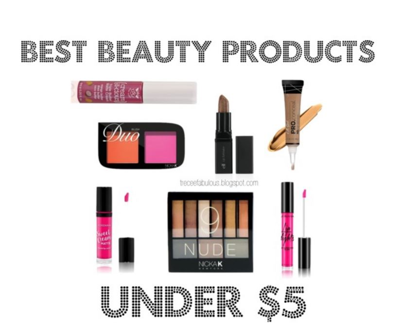 Budget Beauty Finds Under 5 Dollars