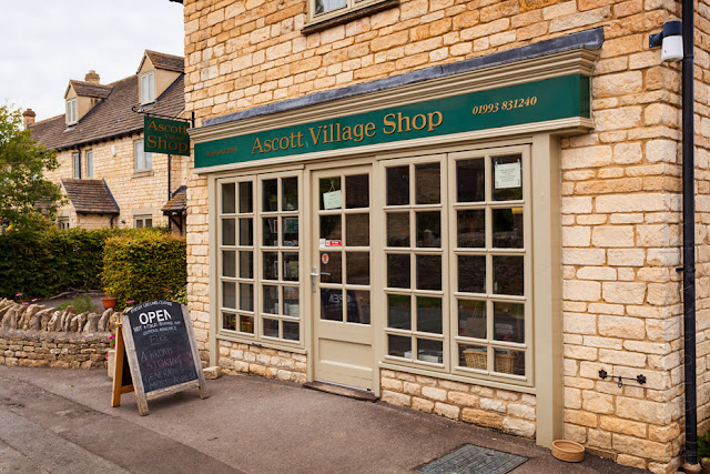 The village shop at Ascott under Wychwood  by Martyn Ferry Photography