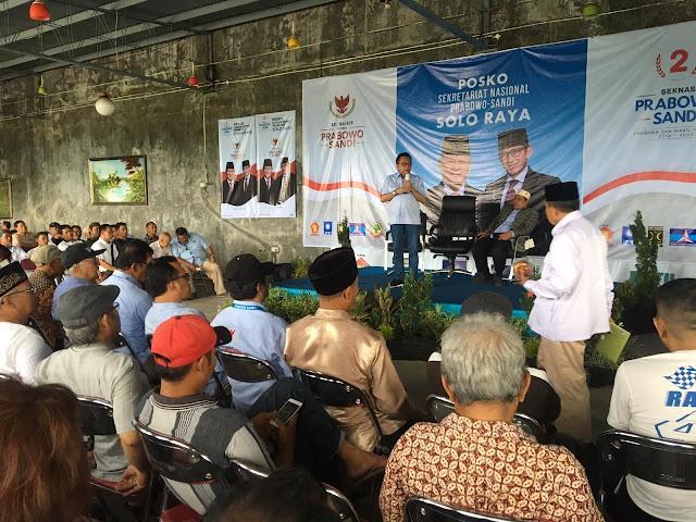 """Tekad Prabowo-Sandi Patahkan Mitos Jateng """"Kandang Banteng"""""""