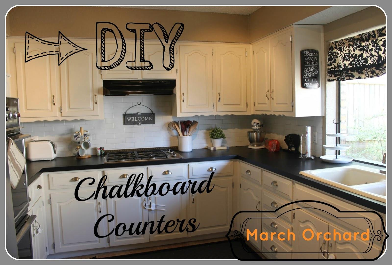 Chalkboard Countertops