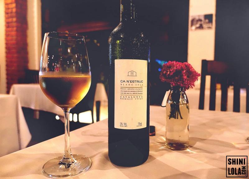 Wine Paring - Ca n'estruc Blanc