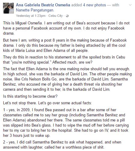 Breaking News: Ellen Adarna Claims Cebu City Mayor's Son Once Threatened Her Friend's Life!