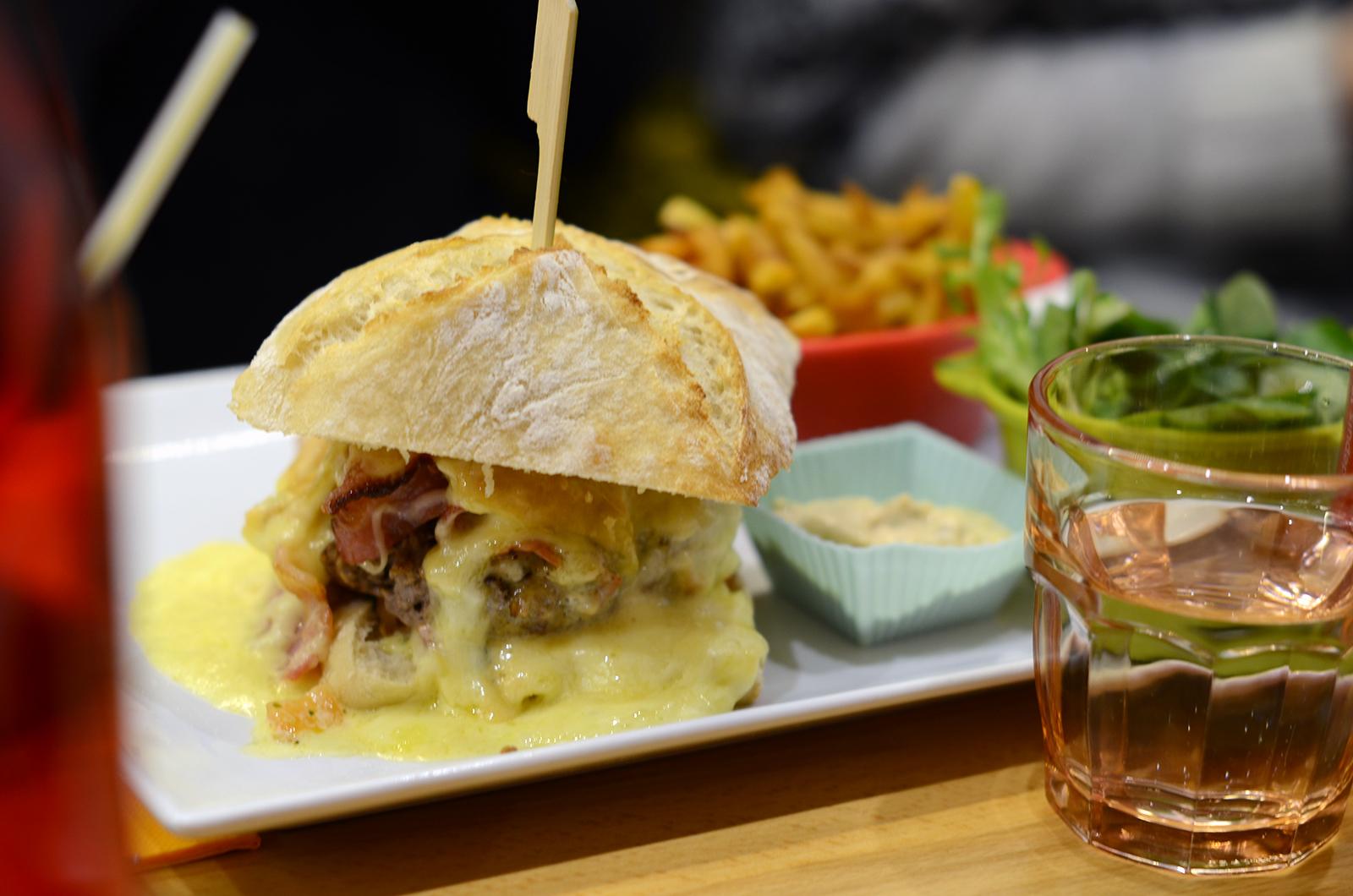 Restaurant Ok Burger à Megève