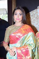Shriya Saran Looks Stunning in Silk Saree at VRK Silk Showroom Launch Secundrabad ~  Exclusive 128.JPG