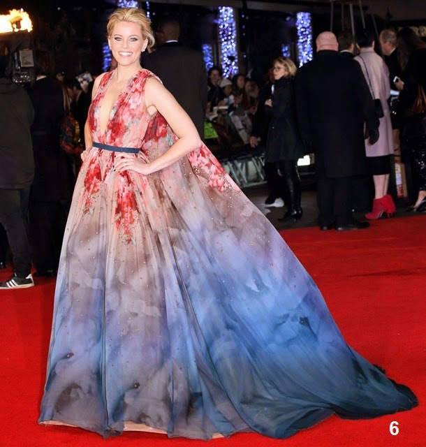 3c42805ac3b2 Elizabeth Banks - Elie Saab Couture Fall 14 - The Hunger Games: Mockingjay  London Premiere