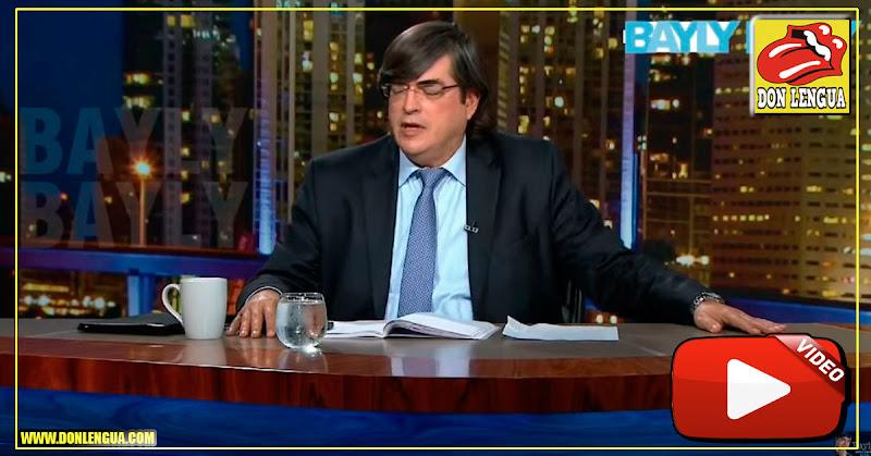 Jaime Bayly entrevista al general Peñaloza y comenta lo de Guaidó